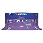 DVD+R enregistrable Verbatim 4.7 Go 25 Unités