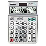 Calculatrice de bureau Casio DF 120ECO 12 Chiffres Gris