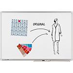 Tableau blanc Legamaster Universal Plus Émail Magnétique 120 x 90 cm