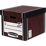 Boîte de rangement BANKERS BOX Bankers Box Premium Presto Premium Marron 34,2 x 40 x 30,3 cm 10 Unités