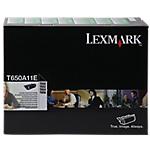 Toner Lexmark D'origine T650A11E Noir Noir