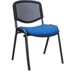 Chaise de réunion Mesh Bleu