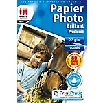 Papier photo Blanc Micro Application 5376 10 x 15 cm 255 g