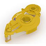 Recharge de colle pour roller Pritt Rollers  Refill 8.4mm. x 14m. (conf.10) 0,84 x 84 x 14 cm Jaune
