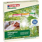 Surligneur edding 24 EcoLine Assortiment   4 Unités