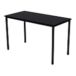 Table multi usages 120 (l) x 60 (P) x 74 (H) cm Noir