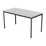 Table multi usages 140 (l) x 70 (P) x 74 (H) cm Gris, anthracite