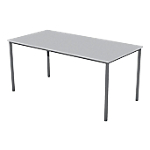 Table multi usages 1 600 x 800 x 740 mm Gris, anthracite