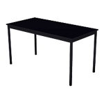Table multi usages 140 (l) x 70 (P) x 74 (H) cm Noir