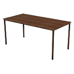 Table multi usages 1 600 x 800 x 740 mm Brun, imitation teck