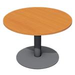 Table de réunion Optimal 720 mm Imitation poirier, anthracite