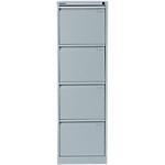 Classeur 4 tiroirs   Bisley   gris clair
