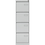 Classeur à 4 tiroirs monobloc Bisley IPCCA14V7 4 Gris 413 x 622 x 1321 mm