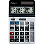 Calculatrice de poche Canon KS 1220TSG 12 Chiffres Argenté