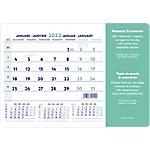 Brepols Tapis de souris calendrier Month 2020 18 x 23 cm