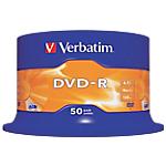 DVD enregistrable Verbatim 4.7 Go 50 Unités