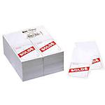 Étiquettes soldes APLI Signalétique promotionnelle Blanc et rouge   1000 Unités