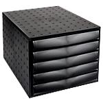 Module de classement   Office DEPOT   5 tiroirs   Noir