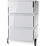 Caisson mobile 4 Tiroirs Paperflow EasyBox 390 x 436 x 642 mm Blanc