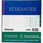 Piqûre Echéancier Exacompta Exacompta 110 g