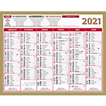 Calendrier Lunor 2020 21 x 26,5 cm