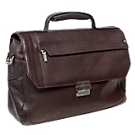 Sacoche en cuir   Pierre   Urban Line   Marron   ordinateur portable 16