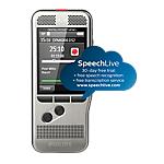 Enregistreur numérique Philips Pocket Memo DPM6000 DSS (Digital Speech Standard), MP3, PCM Gris