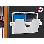 Corbeille murale magnétique CEP ReCeption A3 Blanc 361 (l) x 86 (P) x 270 (H) mm Blanc
