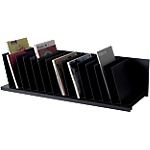 Trieur 16 cases inclinées   Fast Paperflow   noir   91,2 x 31 x 20,6 cm