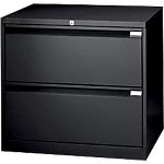 Crédence pour dossiers suspendus Bisley 2 Noir 800 x 470 x 717 mm