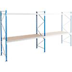 Elément départ + 2 tablettes Planche en aggloméré 1800 x 600 x 2000 mm