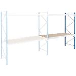 Rayonnage pour charges lourdes ARNO SPACE 2 Wide Span Étagères Bleu, Gris 1800 x 600 x 2000 mm