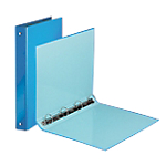 Classeur 4 anneaux Office Depot 4 anneaux 30 mm PP A4 Bleu