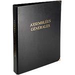 Registre Assemblées Générales Exacompta A4