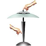 Lampe de bureau E14 Unilux Cristal Gris