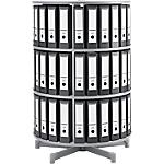 Colonne rotative pour classeurs à levier   Moll   3 niveaux   hauteur 122 cm