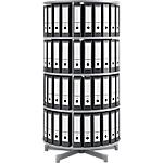 Colonne rotative pour classeurs à levier   Moll   4 niveaux   hauteur 157 cm