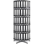 Colonne rotative pour classeurs à levier   Moll   5 niveaux   hauteur 192 cm