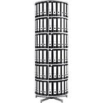 Colonne rotative pour classeurs à levier   Moll   6 niveaux   hauteur 227 cm