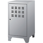 Vestiaire monobloc Casier Bas 400 x 400 x 740 mm Gris