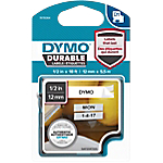 Ruban d'étiquettes DYMO D1 Durable 12 mm x 5,5 m Noir sur blanc   5.5 m