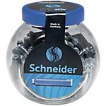 Cartouches d'encre Schneider 6610 Bleu   100 Unités
