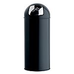 Poubelle Push   Rossignol   45 litres   Noire