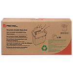 Sacs en papier recyclé pour destructeur Rexel 30 L   20 Unités