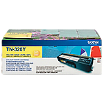 Toner TN 320Y D'origine Brother Jaune Jaune