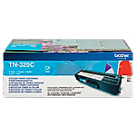 Toner TN 320C D'origine Brother Cyan
