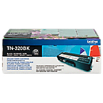 Toner TN 320BK D'origine Brother Noir Noir