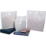 Sacs Plastique 25 x 32 cm 50 microns Blanc   100 Unités