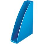 Porte revues Leitz WOW Bleu métallisé 7,5 x 25,8 x 31,2 cm