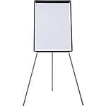 Chevalet de conférence Mélamine, plastique Trépied Niceday Universel 100 (H) x 75 (l) cm